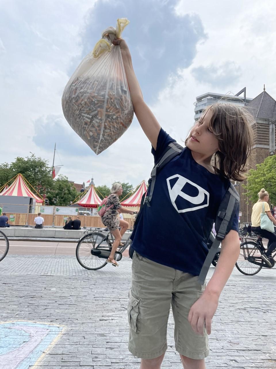 Plastic PeukMeuk 2021 op de Neude